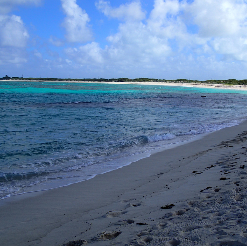 The beaches of Anegada