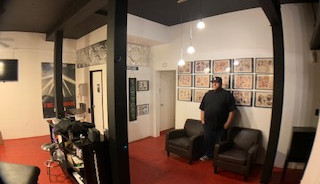 Lovland Tattoo Studio Interior shot