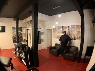 Lovland Tattoo Studio Interior shot