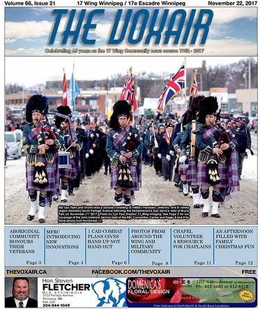 CFB Winnipeg Voxair Military Newspaper
