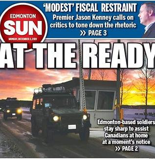 Edmonton Military Newspaper