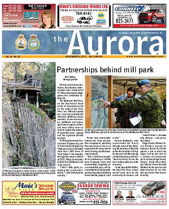 CFB Greenwood Aurora Newspaper