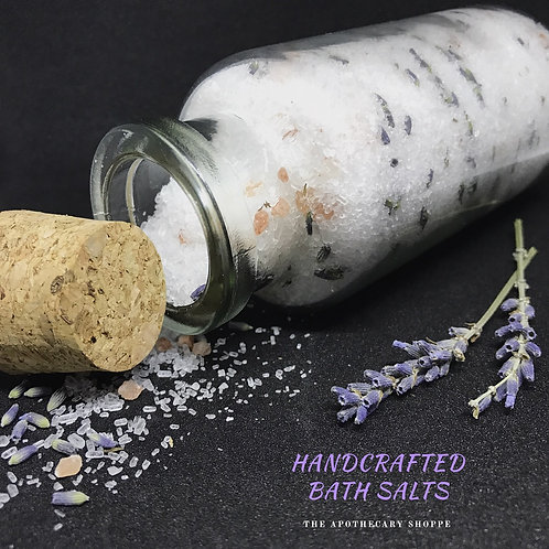 Hancrafted Bath Salts