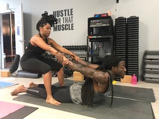 Couple's Yoga Session