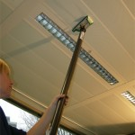 plafond reiniging