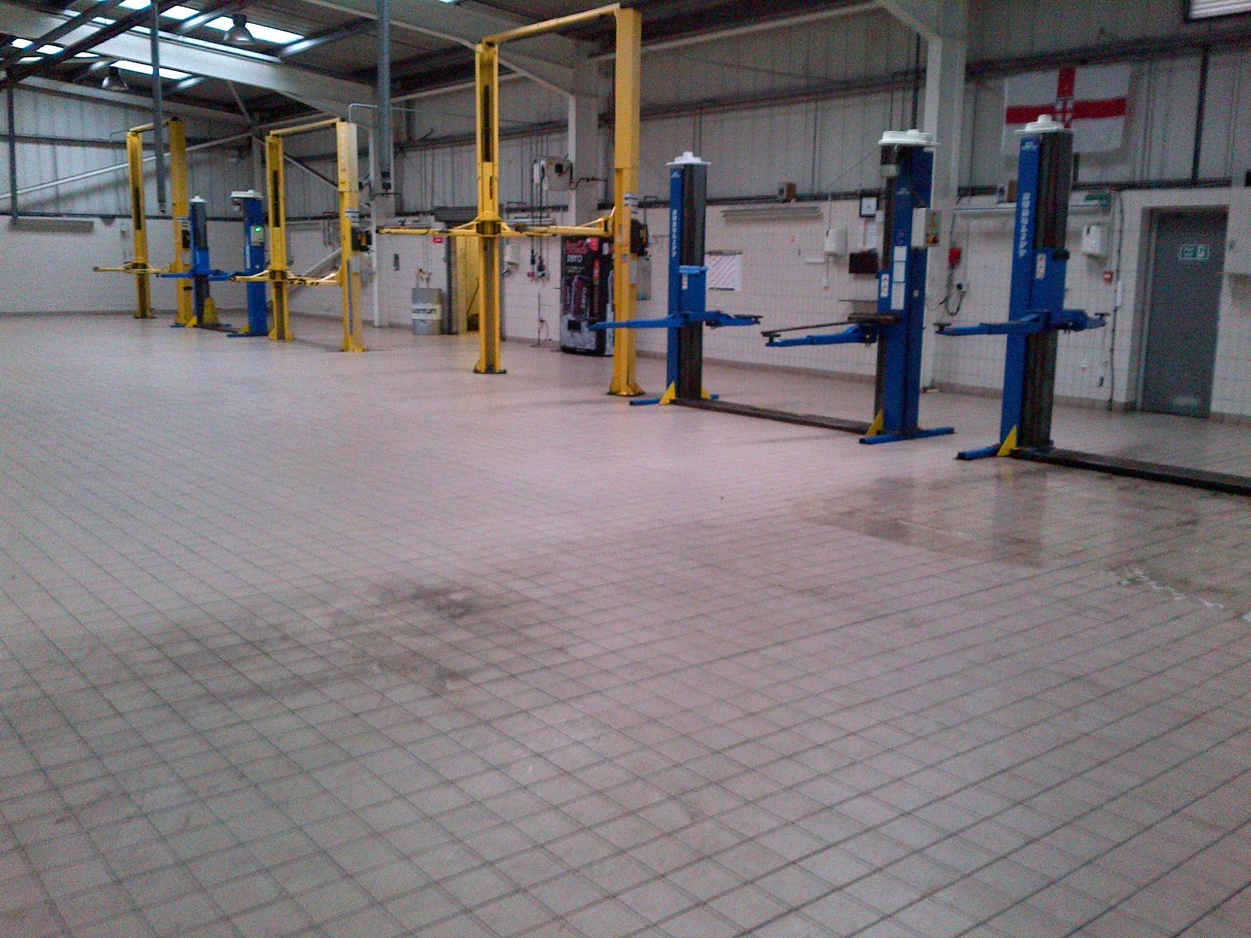 werkplaats reiniging