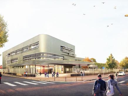 Le nouveau visage du Collège R. Rolland du Havre