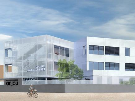 Le collège C. Claudel-Le Louroux Béconnais (49) obtient la certification HQE BD phase Programme
