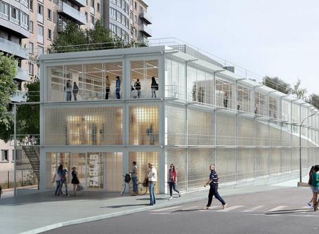 L'Ecole Bleue - RIVP - Paris