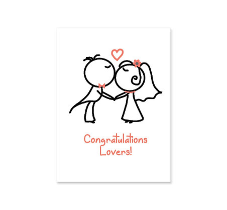 Congratulations Lovers!: Set of 3