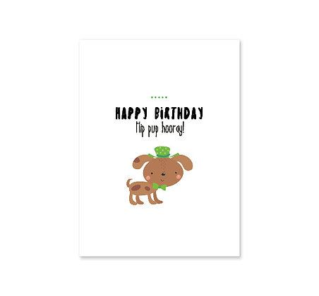Hip Pup Hooray: Set of 3