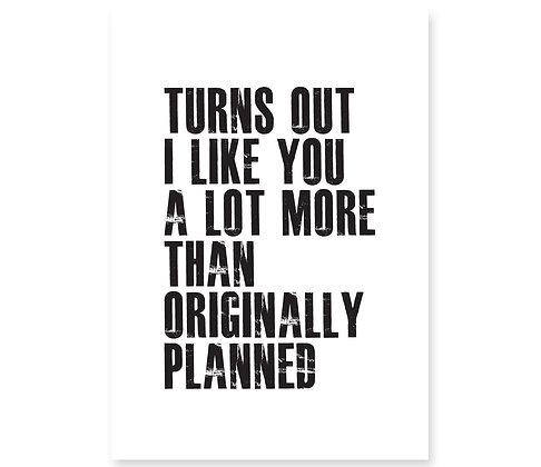 Originally Planned