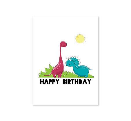 Dinosaur Birthday: Set of 3