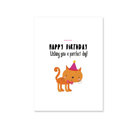Purrfect Birthday: Set of 3