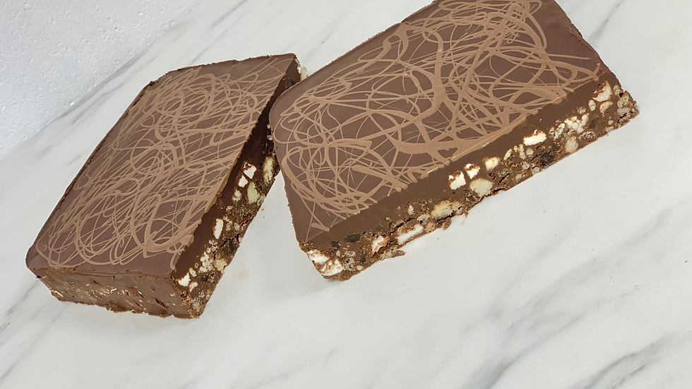 Luxury Belgian Chocolate Rocky Road (28cm x 18cm)