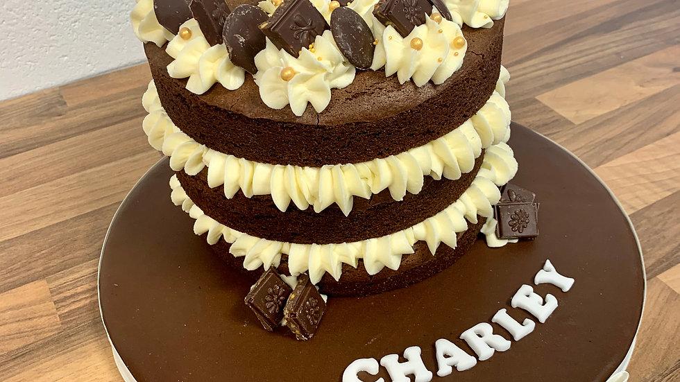 VEGAN/GLUTEN FREE Chocolate Brownie Cake