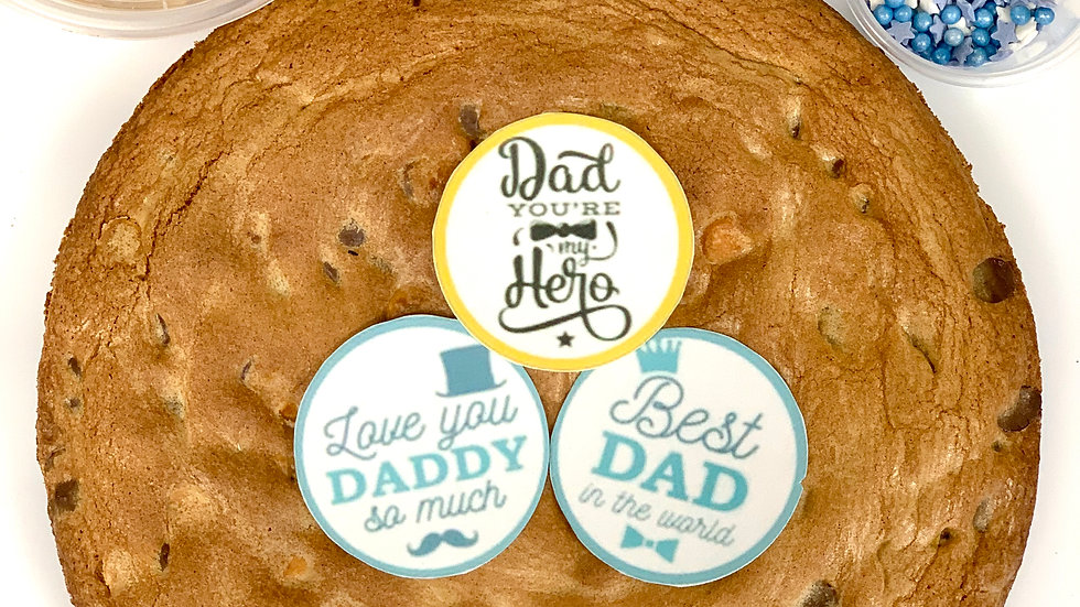 Decorate your own Giant Fathers Day Cookie