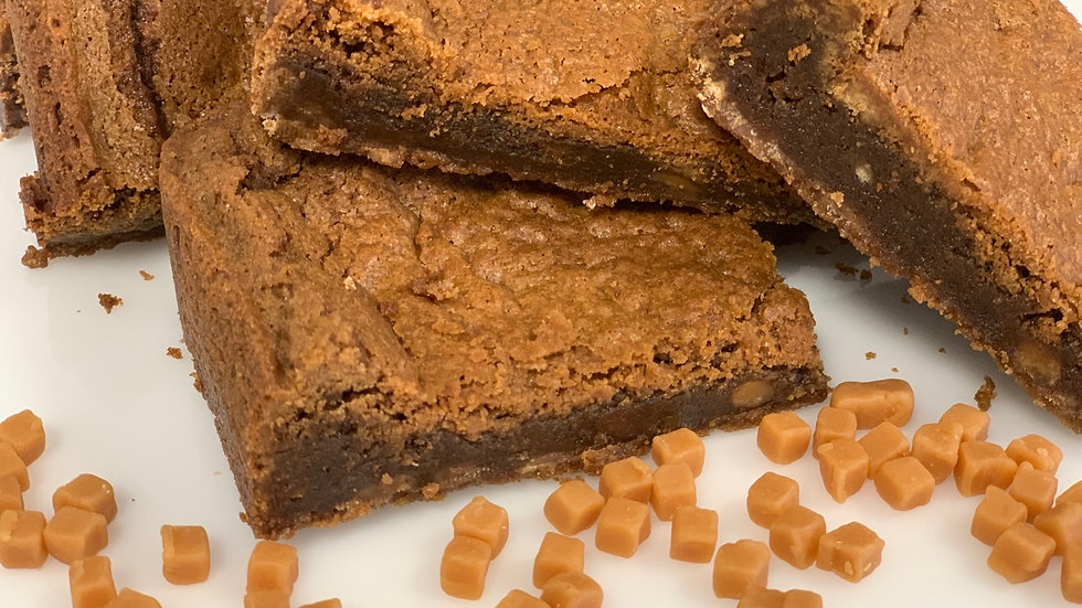 2 x Toffee fudge blondie