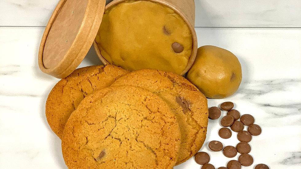 Single Cookie Dough Pot