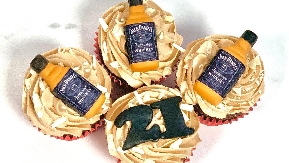 3D Handmade edible cupcake toppers