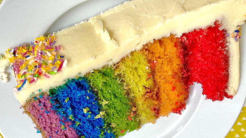"""Rainbow Cakes (8"""" x 10"""")"""