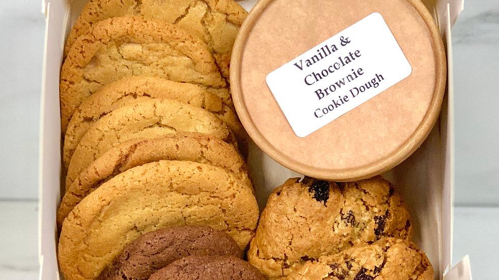 Mixed Cookie Box & Dough Dough Pot