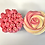 Thumbnail: Mother's Day 2 flower cupcakes & chocolate bar