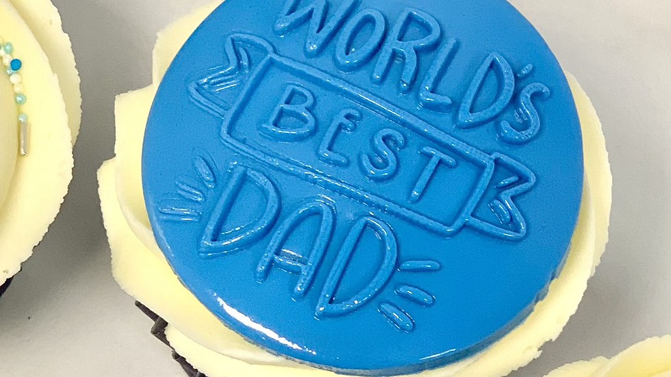 Fathers day 6 cupcakes