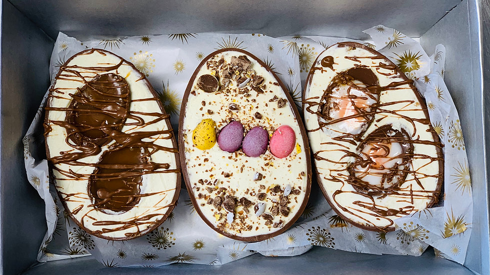 3 x Cheesecake filled Easter Eggs