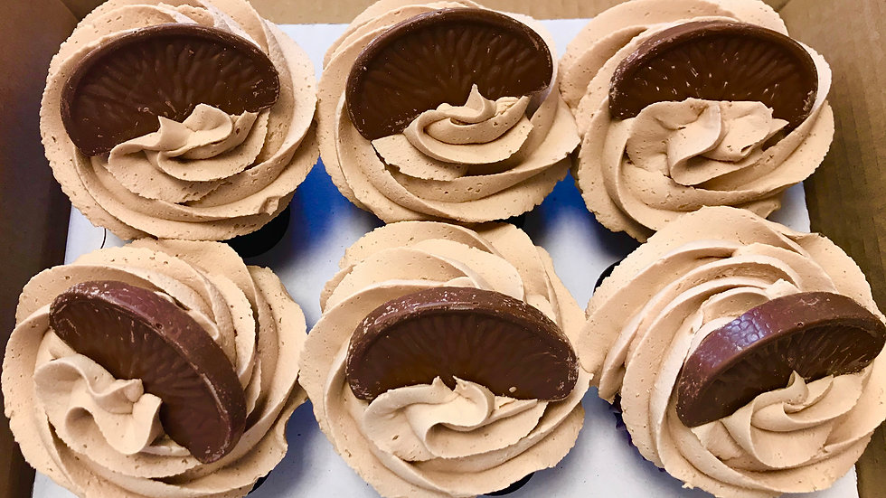 Gluten FREE Box 6 Cupcakes