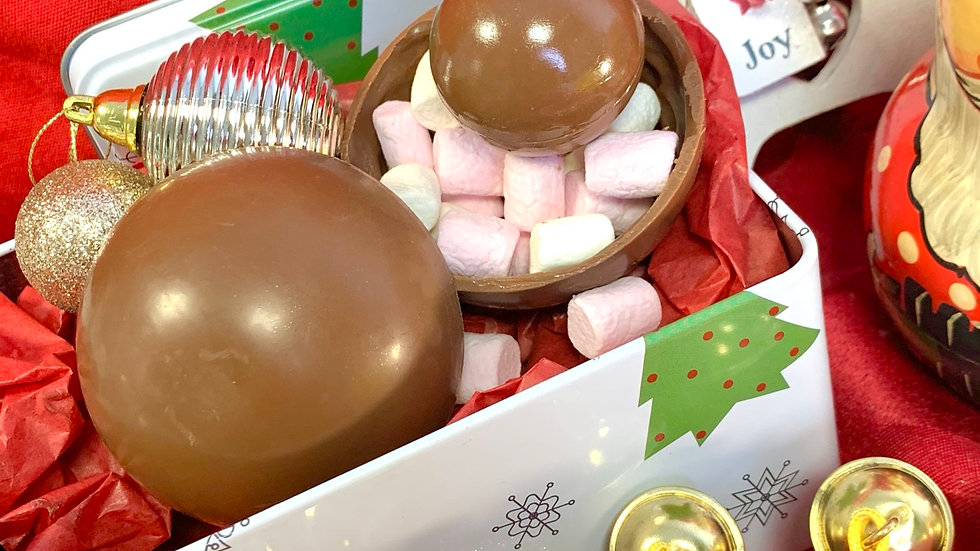 Boozy Hot Chocolate Bombs (in Gift Box