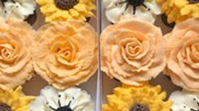 Flower Cupcakes Box of 12