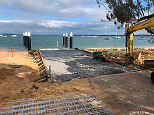 Boat Ramp Construction