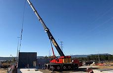 Precast, Tilt Panel, Concrete, Crane