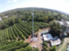Telco Drone Photo, nbn tower, telecommunication tower