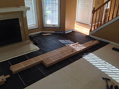 Novi Hardwood Floors installation