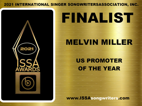 CONGRATS! to Sipp Soul Ent Co-Founder Mel Miller for being named a finalist for an ISSA Award!