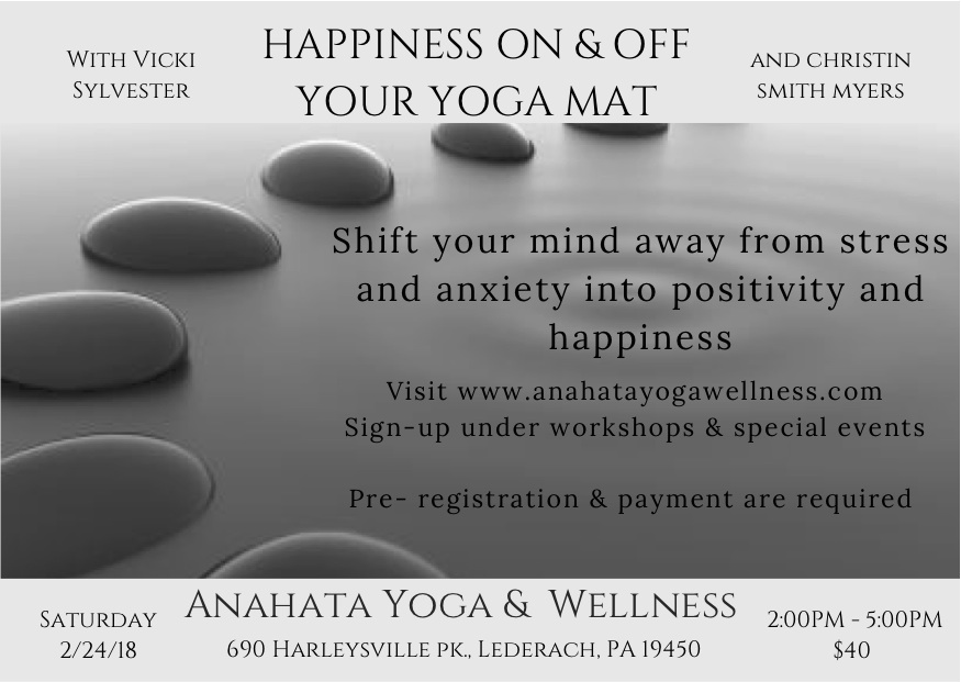 Happiness On & Off Your Yoga Mat