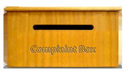 Institute a complaint box