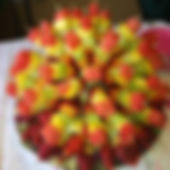 Paraquet Restaurant Bermuda Catering Fruits Arrangement