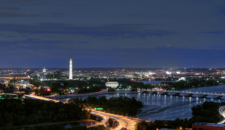 AT Deck at Arlington Tower - Panoramic Views of DC