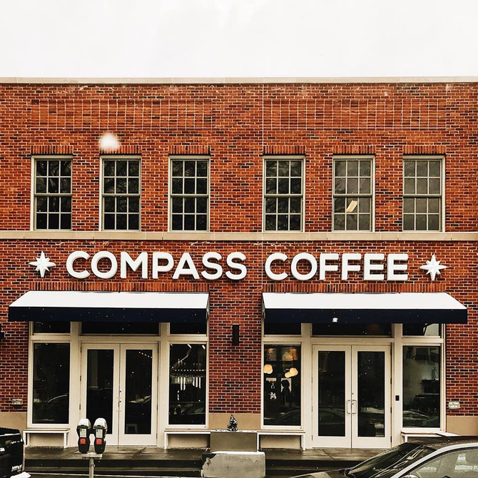 Now Open - Compass Coffee ☕