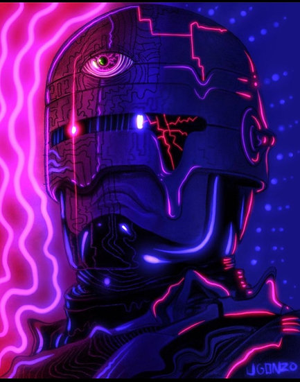 Psychedelic Robo Cop