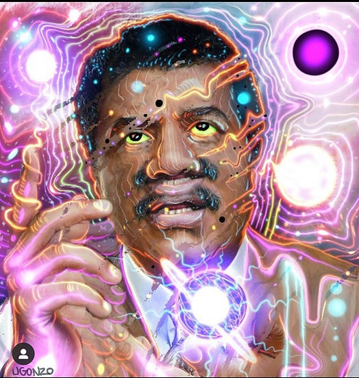 Psychedelic Astro physicist
