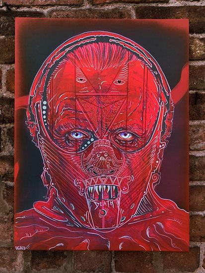 Hannibal Lecter 18x24