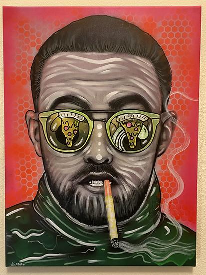 Kooliad & frozen pizza / Mac Miller
