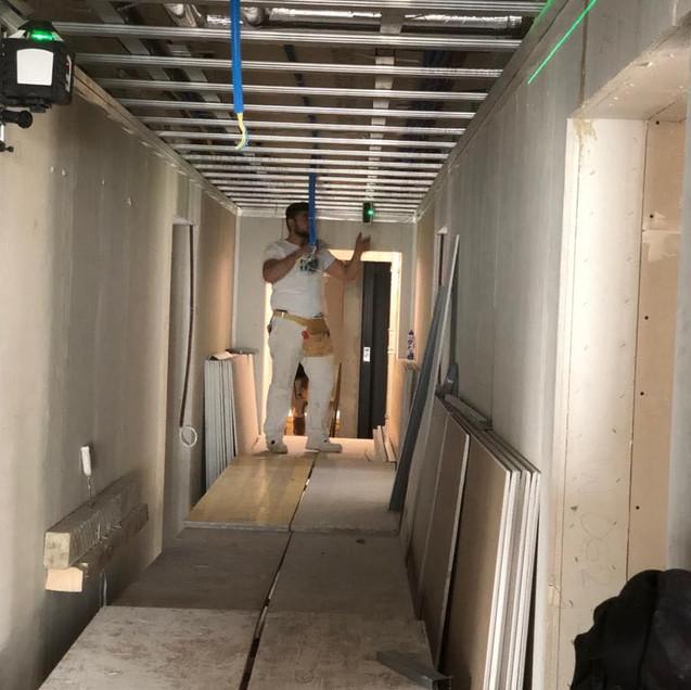 Leicht- und Trockenbau / Raumaufteilung