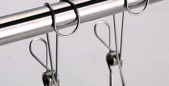 Stainless Steel Hook Hanging Clip