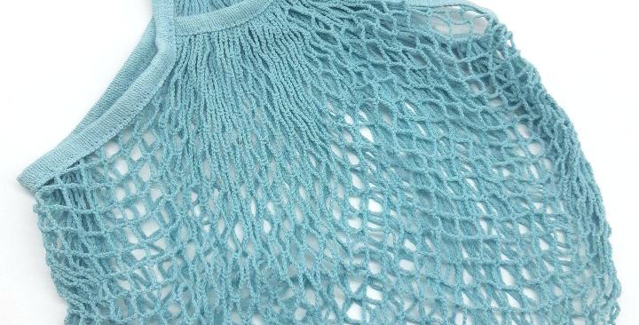 Short Handle Net Shopping Bag