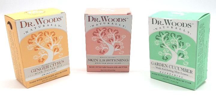 Dr. Woods Bath Soap Bar